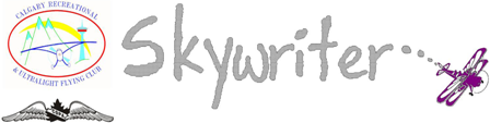 CRUFC Skywritter Newsletter Archives