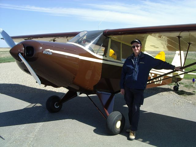Calgary Recreational & Ultralight Flying Club - CRUFC - Aircraft & Bob Kirkby