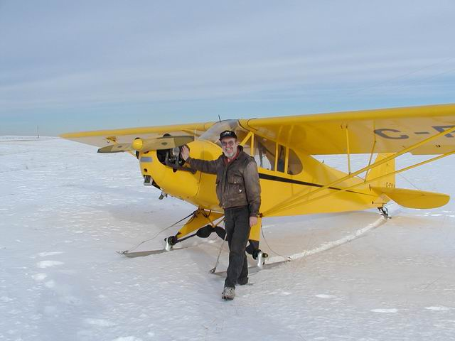 Calgary Recreational & Ultralight Flying Club - CRUFC - Aircraft & Glen Clark