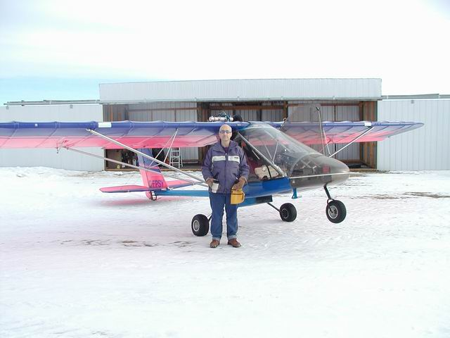 Calgary Recreational & Ultralight Flying Club - CRUFC - Aircraft & Brian Vasseur