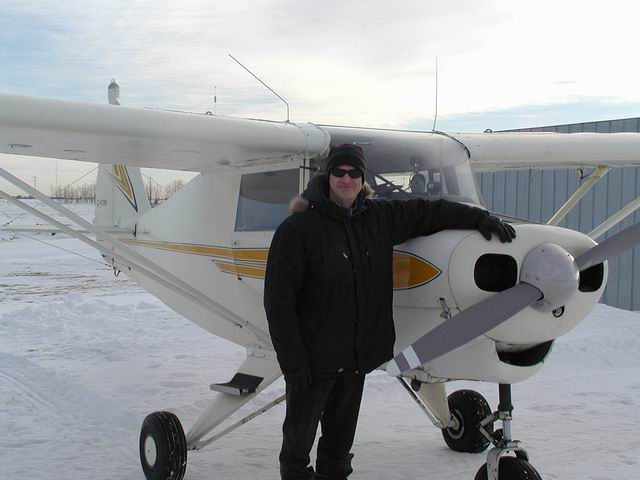 Calgary Recreational & Ultralight Flying Club - CRUFC - Aircraft & Gary Able
