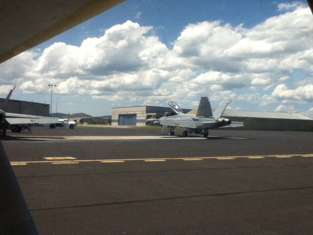 Klamath Falls - F-18's on the ramp