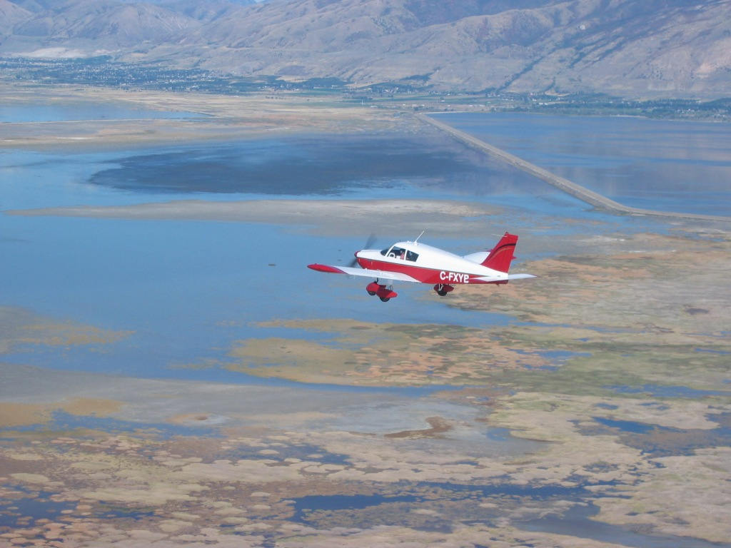 Cherokee 235 over Salt Lake